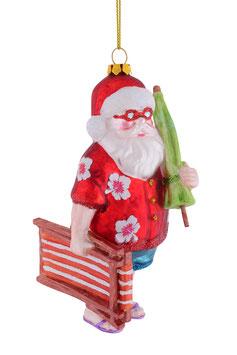 Hänger Santa mit Liegestuhl