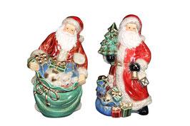 Keramikfigur Weihnachtsmann