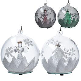 Weihnachtskugel LED