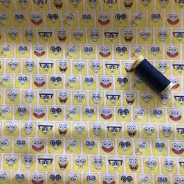 BW-Stoff SpongeBob Lizenz