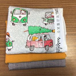 Stoffpaket Weihnachts-MöpMöp lillestoff