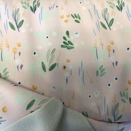 Softshell Katia pastell Blüten