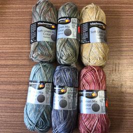 Schachenmayr Soft Linen Mix Color 50g/93m