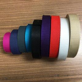 Gurtband 25 mm breit