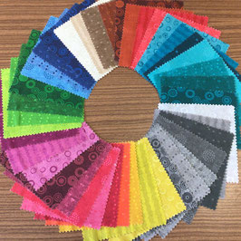 Patchwork Charm Pack alle Farben