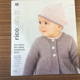 Strickheft 013  RICO Baby dk