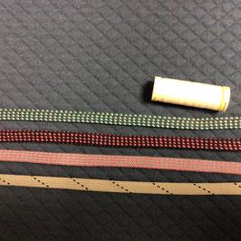 Kordel zweifarbig flach