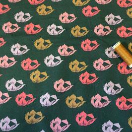Jersey Blossom by brinarina moosgrün