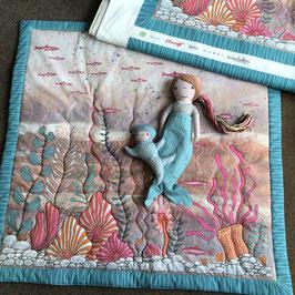 "BW-Panel Spieldecke lillestoff ""Mermaid"