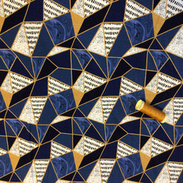 Viskose Jersey Mosaik