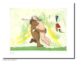 Janosch: der Bär, der Bär der wiegt nicht schwer