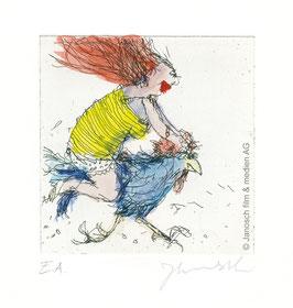 Janosch: Der Hahn ist mein Mann und ich heiße Luise