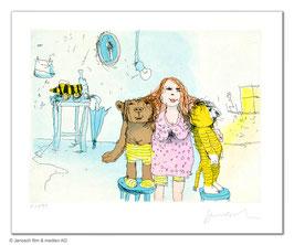 Janosch: Die beste Freundin von Bär und Tiger