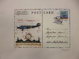 Leslie Hunt - Postcard