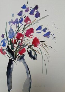 Regina Decker-Kern - Blumenstrauß in Vase
