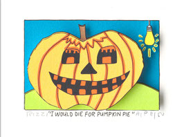 Rizzi - I WOULD DIE FOR PUMPKIN PIE