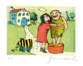 Janosch: Ich liebe Sie sprach Luise zu mir auf einer grünen Wiese