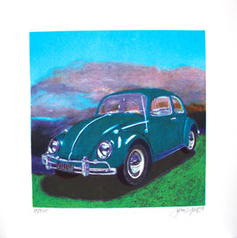 Gill: Mini Bug - Turquoise