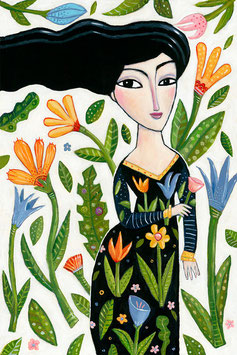 Kaufman - Woman with Flowers