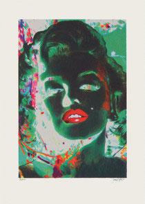 Gill - Marilyn in Green Room