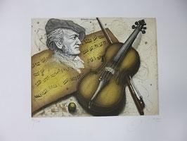 Udo Nolte - Richard Wagner, Violine und Partitur