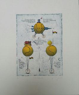 Dieter Portugall - Tennisballvarationen
