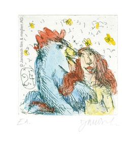 Janosch: Sie liebte einen Gockelhahn