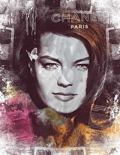 Miles - Night in paris - Romy Schneider