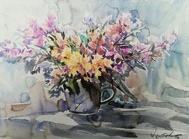 Jan Sokew - Blumen Stillleben III