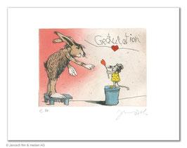 Gratulation du lieber Hase