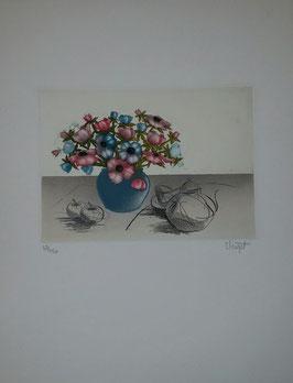 Elisabeth Clerget - Nature mort IV