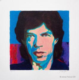 Gill: Mini - Mick Jagger 1