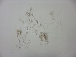 Leonor Fini - Croquis 2