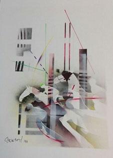 Christian Claerebout - Ohne Titel IX