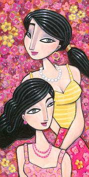 Kaufman - Pink Flowers