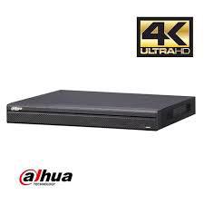 Aufzeichnungssystem für max. 8 Überwachungskameras in 4K Qualität