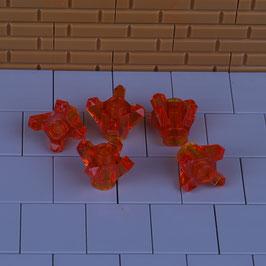 5 Kristalle Orange