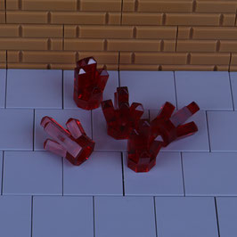 5 Kristalle Rot
