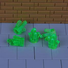 5 Kristalle Grün