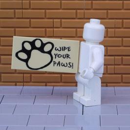 Fußmatte Wipe Your Paws