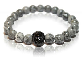 Lion grey black | Luxury Collection