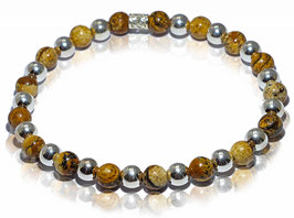NEW! Classic   brown & silver
