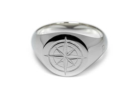 Signet Ring Compass
