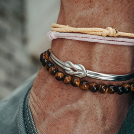 Classic Tiger Eye, Knot Bracelet and Rope Bracelets