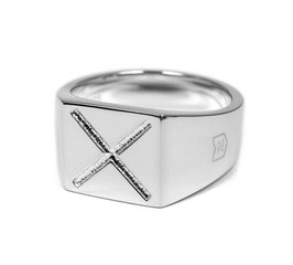 Signet Ring Cross