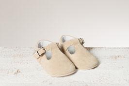 Beige Baby-Schuhe
