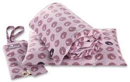 Bio Kinderbettwäsche - lilac bird (ausverkauft)