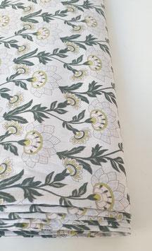 Baumwollstoff - Floraler Print