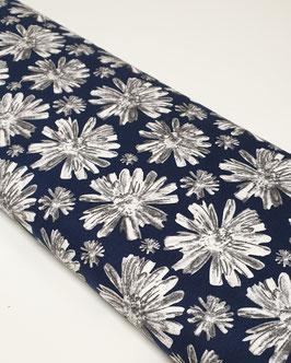 Baumwollstretch - Blumenprint