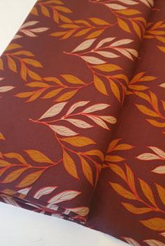 Viskosestoff - Blätterprint